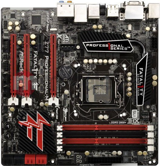 Asrock Fatal1ty Z77 Professional-M THX TruStudio Driver Windows 7