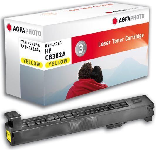 AgfaPhoto Toner APTHP382AE / CB382A (Yellow) 1