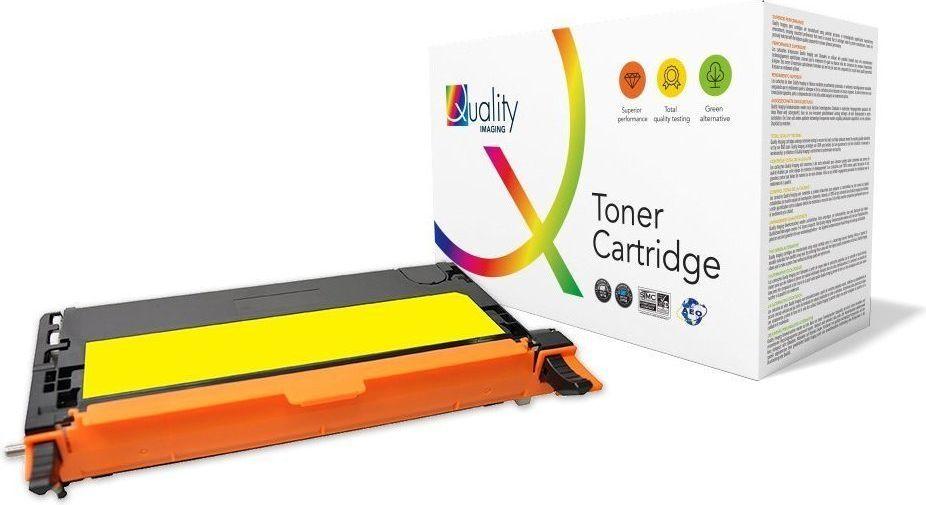 Quality Imaging Toner QI-DE1006ZY / 593-10173 (Yellow) 1