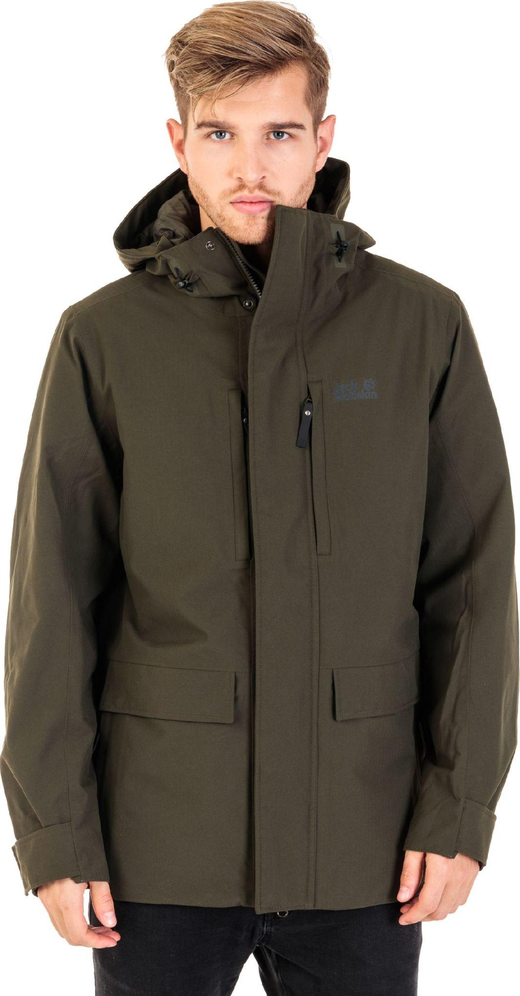 najbardziej popularny produkty wysokiej jakości Cena hurtowa Jack Wolfskin Kurtka hardshell męska West Coast Jacket pinewood r. XL ID  produktu: 4648435
