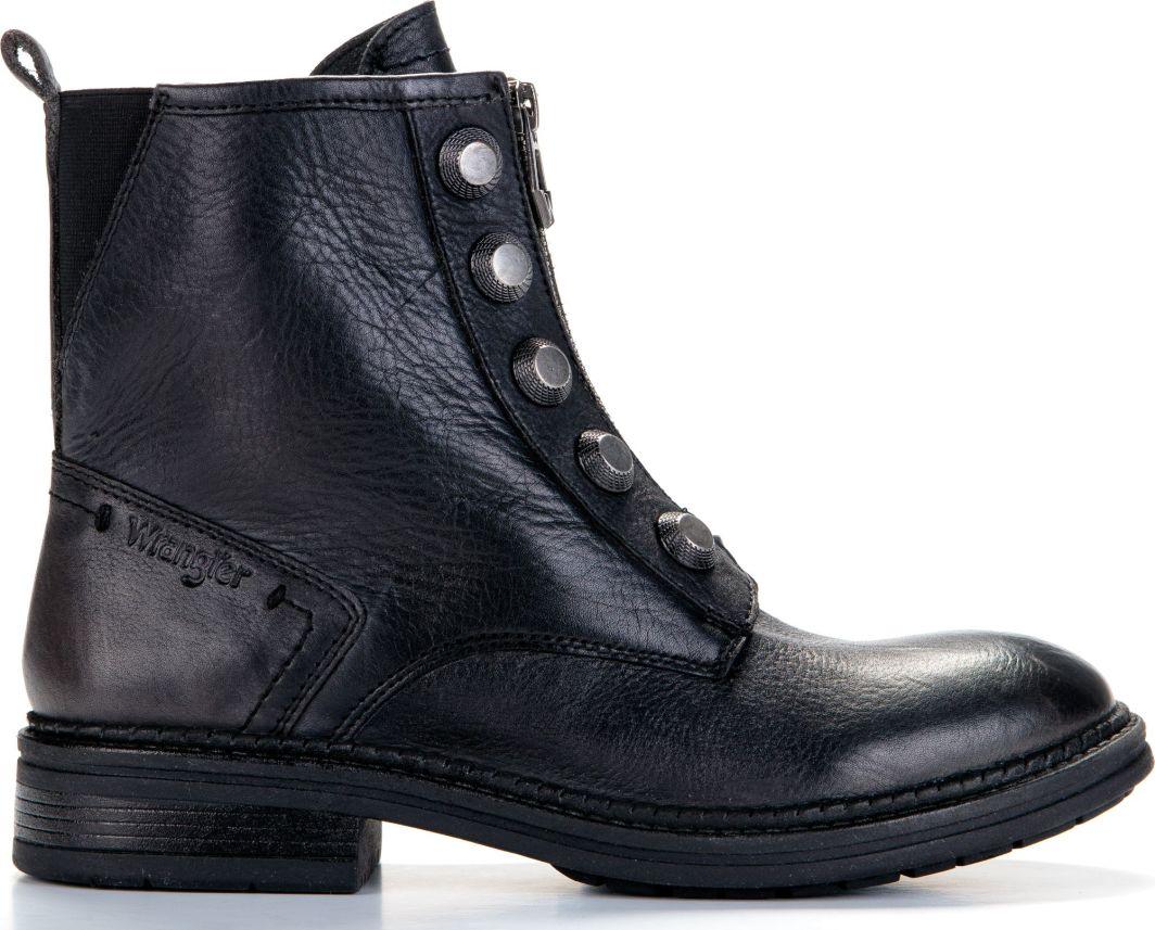 Wrangler Buty damskie Gstad Button WF2370101 Black r. 40 1