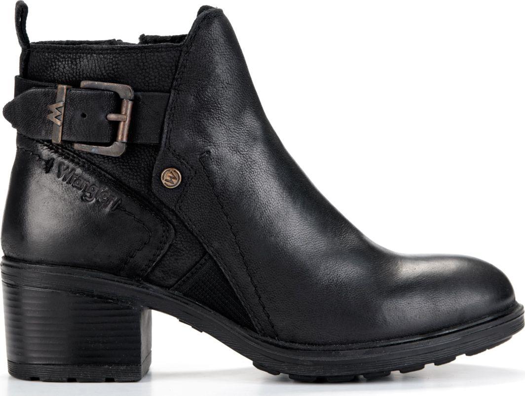 Wrangler Botki damskie Vail Ankle WF2336101 Black r. 40 1
