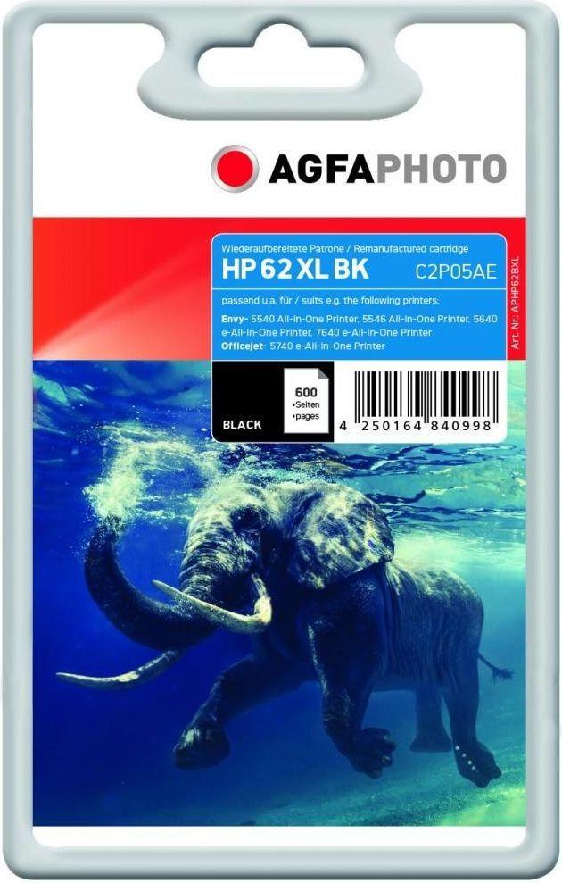 AgfaPhoto Tusz APHP62BXL / 62 XL (Black) 1