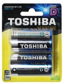 Toshiba Bateria High Power D / R20 2szt. 1