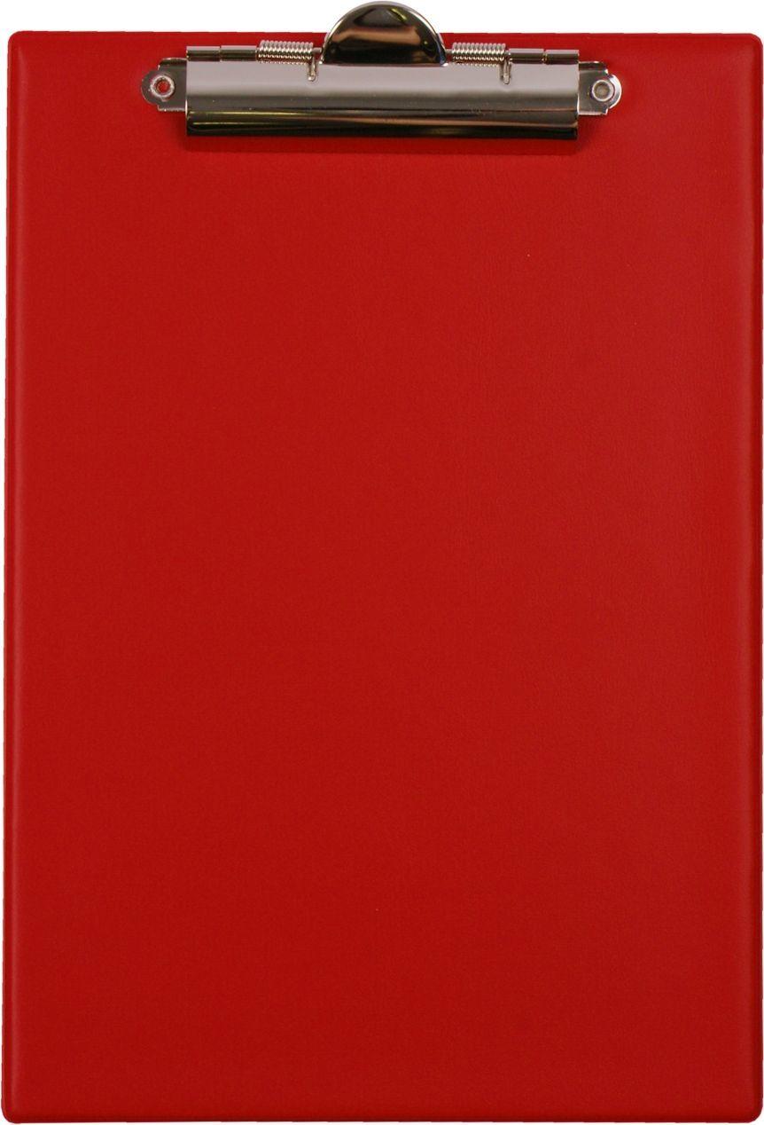 Biurfol Deska z klipem A5 - czerwona KH0004 1