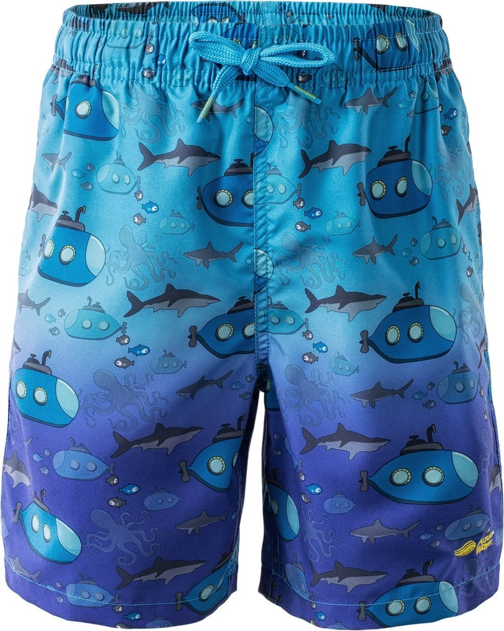 AquaWave Szorty dziecięce Submarine Kids Shorts niebieskie r. 122 1