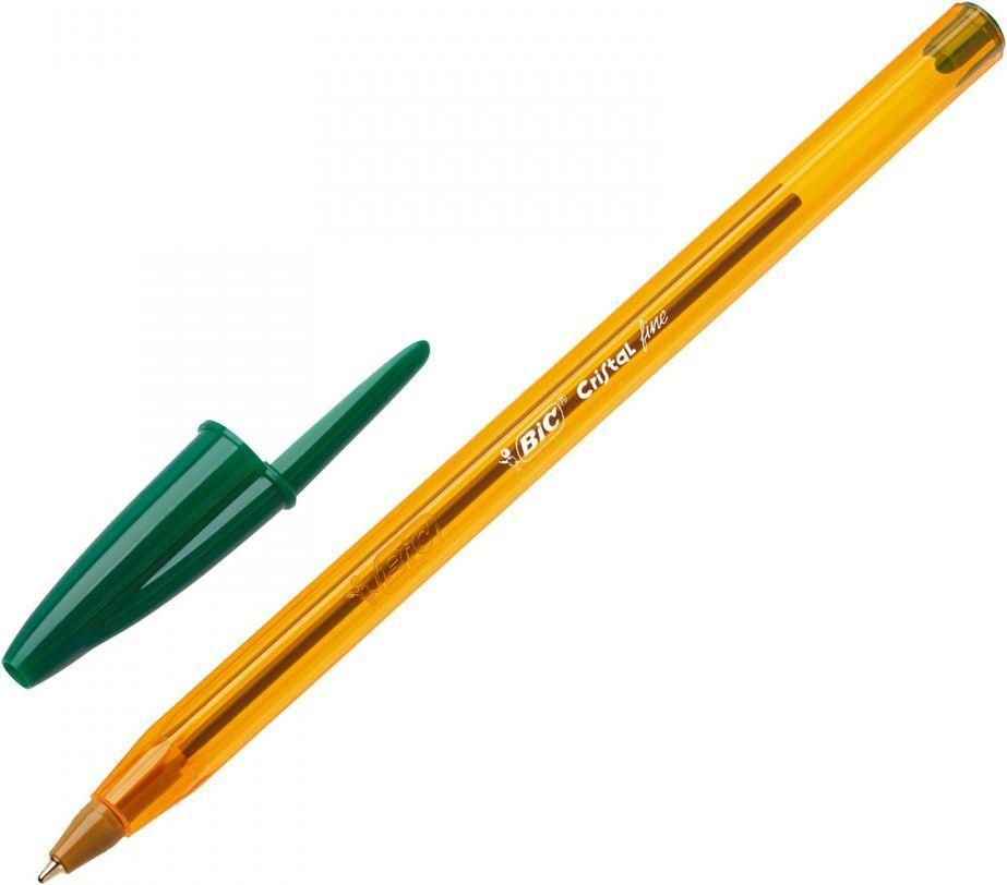 Bic Długopis Cristal fine zielony 1