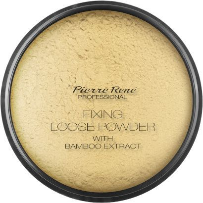 Pierre Rene Fixing Loose Powder With Bamboo Extract puder sypki Bambus & Banan 12g 1