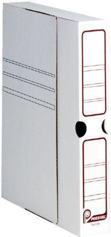 Pressel Pudło archiwizacyjne 260x75x320mm biały 40/p 1