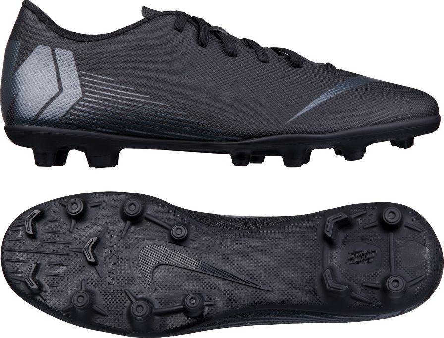 e4d6bb64 Nike Buty piłkarskie Mercurial Vapor 12 Club MG czarne r. 40.5 (AH7378 001)
