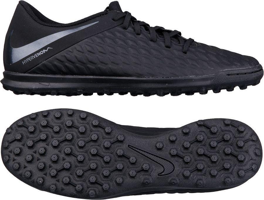 391fbcd32 Nike Buty piłkarskie Hypervenom Phantomx 3 Club TF czarne r. 42.5 (AJ3811  001) w Sklep-presto.pl
