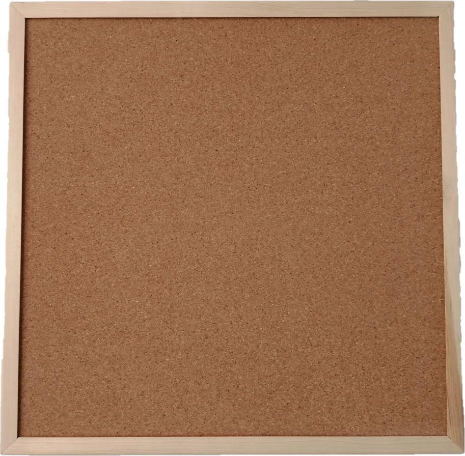 Cetus-Bis Tablica korkowa 80 cm x 90 cm w ramie drewnianej (CET89) 1