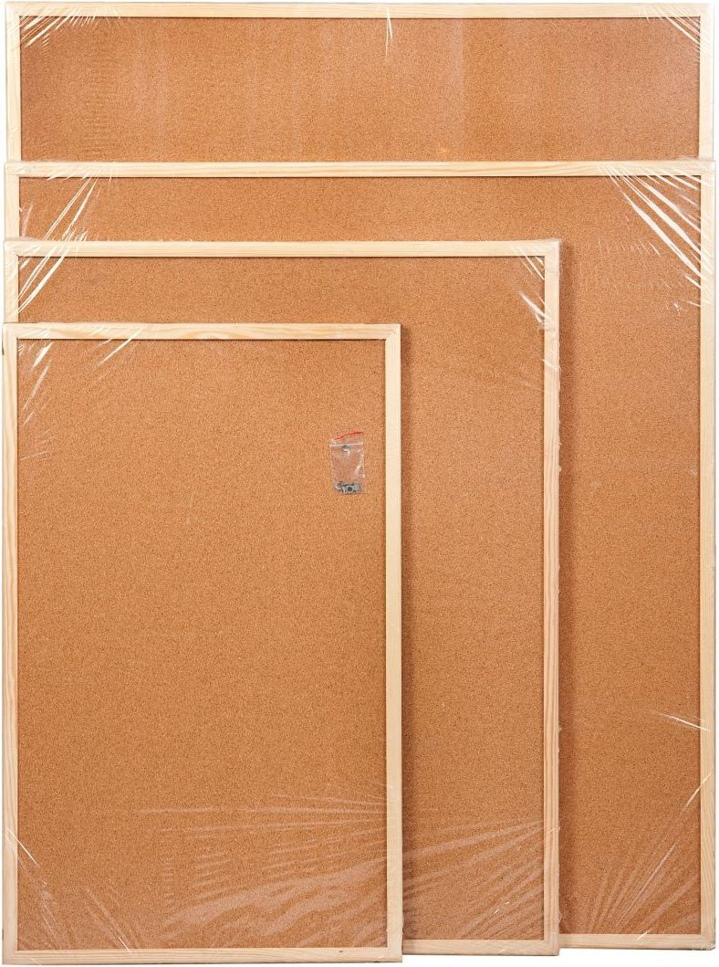Cetus-Bis Tablica korkowa 60 cm x 90 cm w ramie drewnianej (CET69) 1