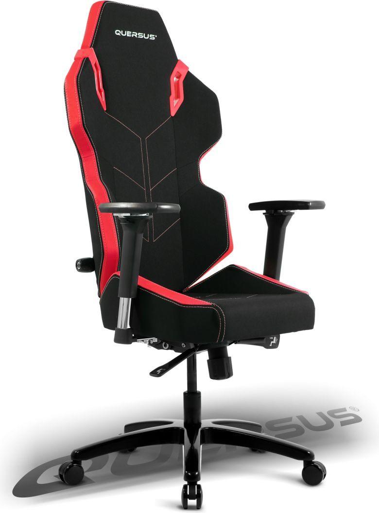 Fotel Quersus Evos 301 Czarno-czerwony 1