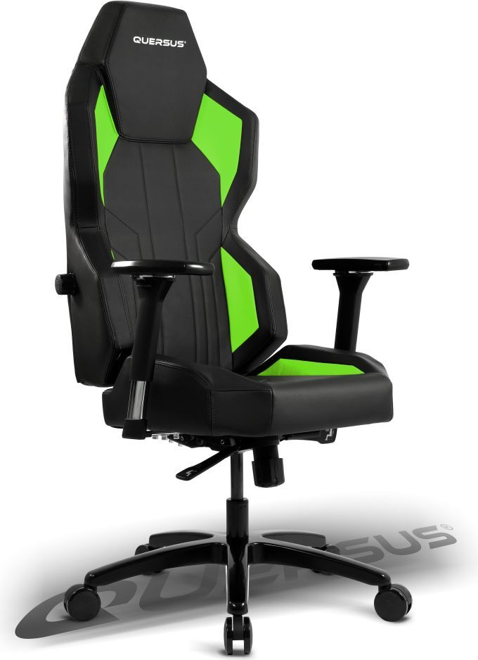 Fotel Quersus Geos 702 Czarno-zielony (G702/XG) 1