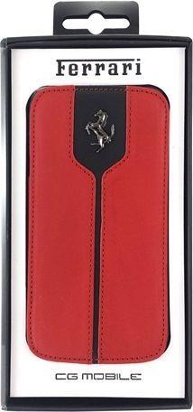 Ferrari Etui Ferrari book FEMTFLBKS4RE i9505 S4 1