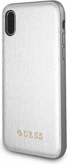 Guess Guess GUHCPXIGLSI iPhone X silver /srebrny hard case Iridescent 1