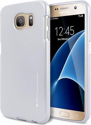 Mercury I-Jelly iPhone 8 srebrn/wycięcie silver/hole 1
