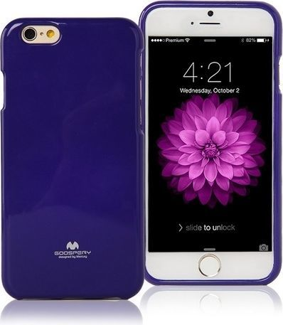 Mercury Mercury Jelly Case G920 S6 purpurowy 1