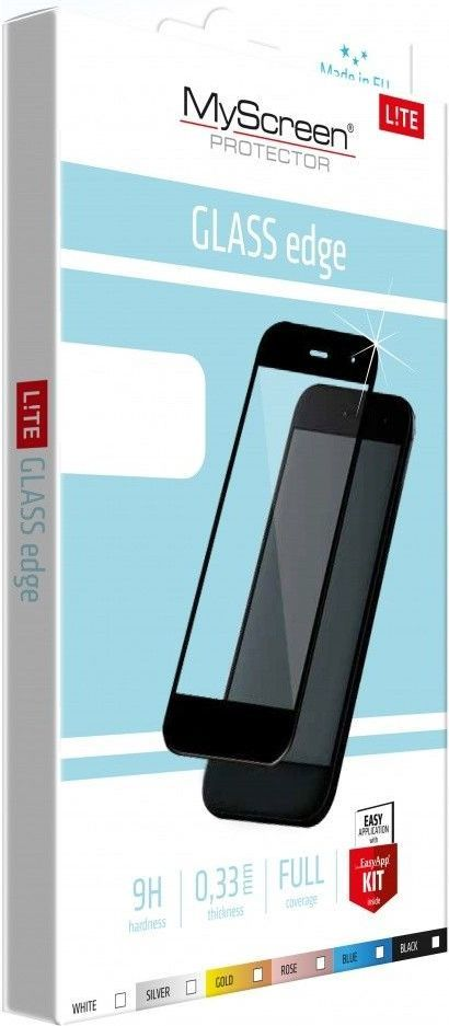 MyScreen Protector Szkło Lite Glass Edge do Huawei Mate 10 Lite czarny 1