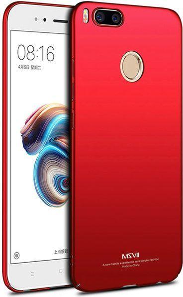 newest 45e2a ece55 MSVII Etui MSVII Thin Case do Xiaomi Mi A1 / Mi 5X Czerwone ID produktu:  4691242