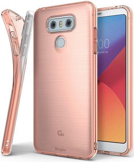 Ringke Etui Ringke Air dla LG G6 Rose Gold 1