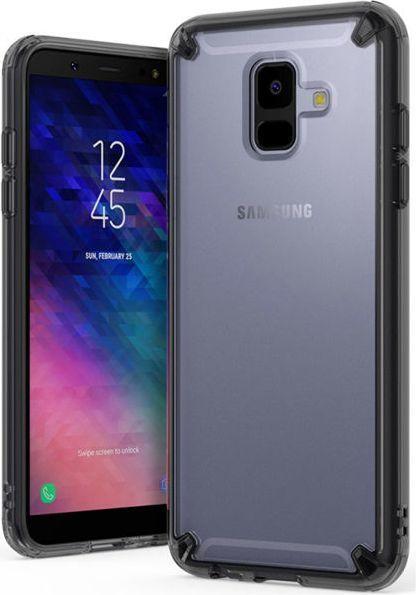 Ringke Etui Ringke Fusion Samsung Galaxy A6 2018 Smoke Black 1