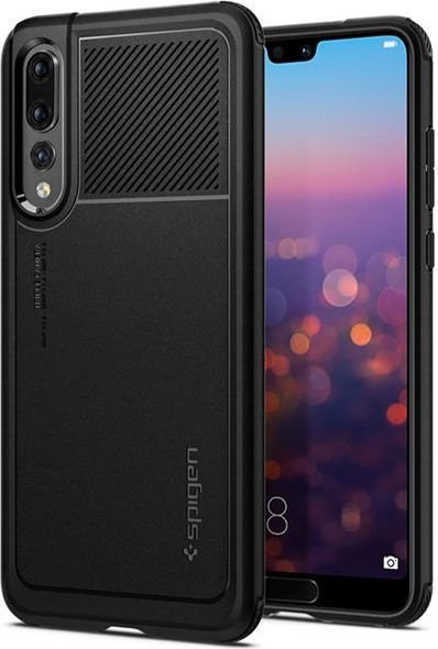 Spigen Etui Spigen Marked Armor Huawei P20 Pro Black 1