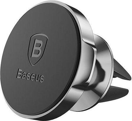Uchwyt Baseus samochodowy magnetyczny do kratki czarny 1