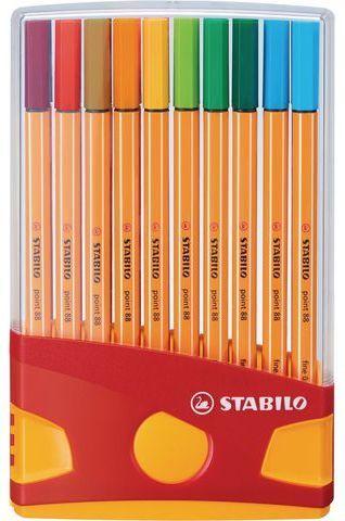 Stabilo Cienkopis POINT 88 COLOR PRADE, zestaw 20 kolorów (SCH028) 1