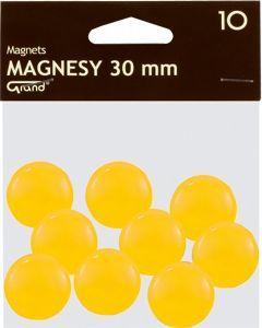 KW Trade Magnesy Grand 20 mm żółte op. 10 sztuk 1