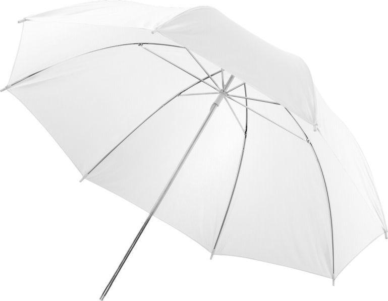 Walimex Półprzezroczysta parasolka, Biała, 84 cm (12132) 1