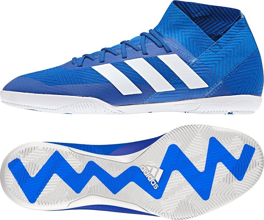 kupować nowe przystępna cena sklep internetowy Adidas Buty piłkarskie Nemeziz Tango 18.3 IN niebieskie r. 40 2/3 (DB2196)  ID produktu: 4702090