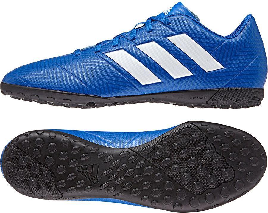 Adidas Buty piłkarskie Nemeziz Tango 18.4 IN niebieskie r