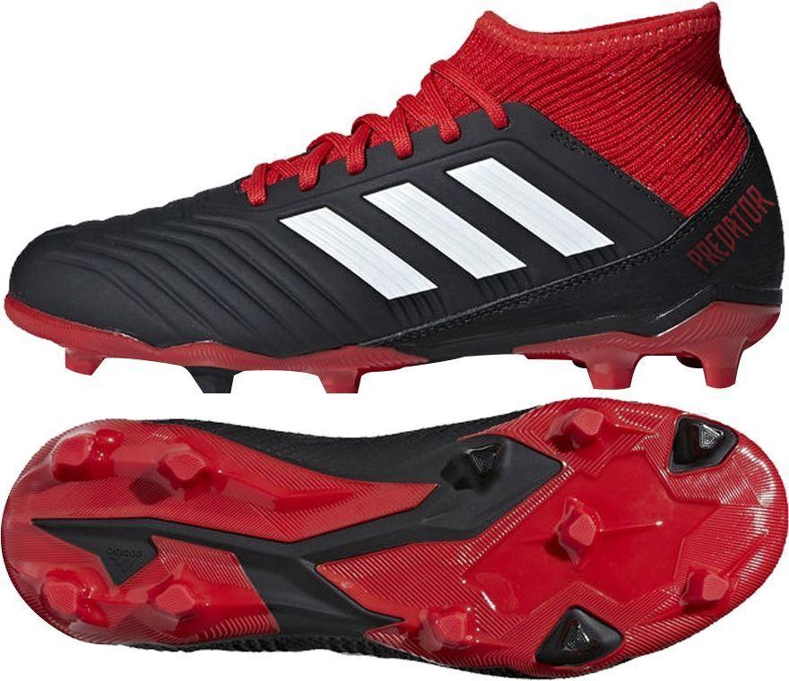 adidas Predator 18.3 FG BiałyCzarny Koralowy Buty