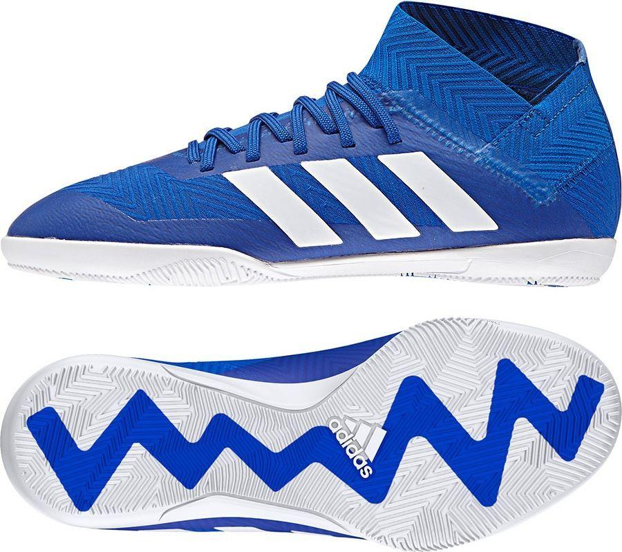 Adidas Buty piłkarskie Nemeziz Tango 18.3 IN niebieskie r. 38 23 (DB2374) ID produktu: 4702169