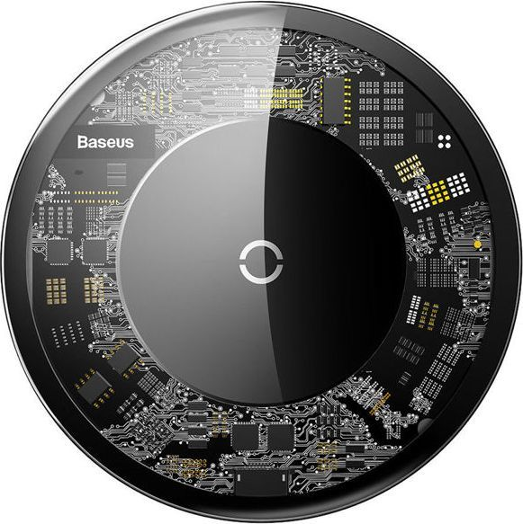 Ładowarka Baseus Ładowarka indukcyjna QI Baseus Simple 10W bezprzewodowa Czarna