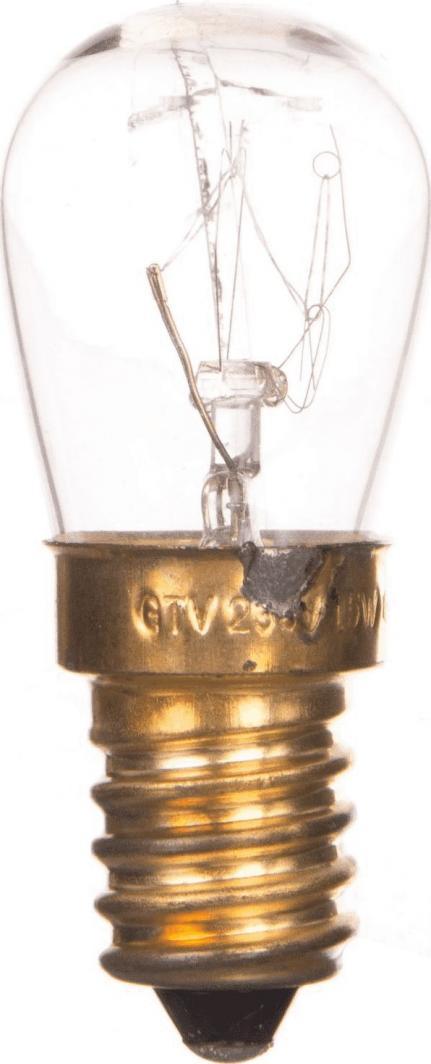GTV żarówka specjalna do piekarników 15W E14 (ZS-PKA15W-14) 1