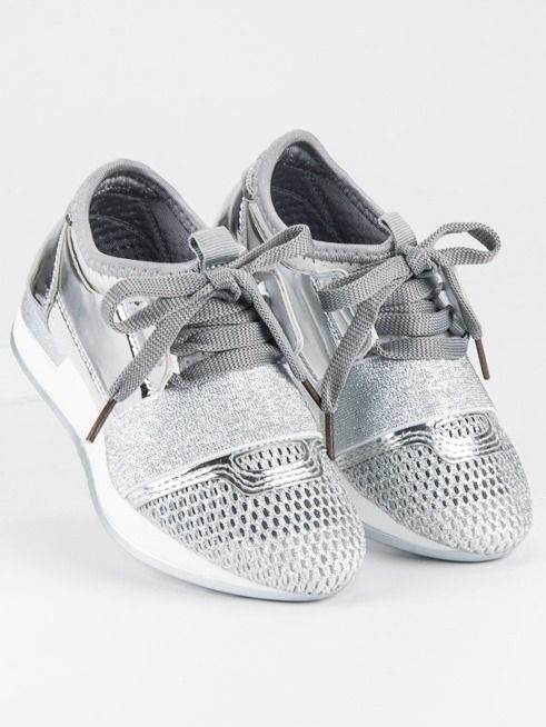 Merg Buty dziecięce wsuwane srebrne r. 34 (78260) ID produktu: 4705945