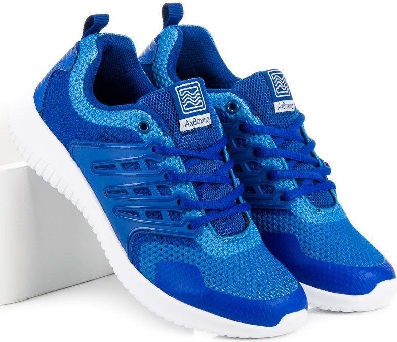 AX BOXING Buty męskie niebieskie r. 46 (75954) ID produktu: 4706610