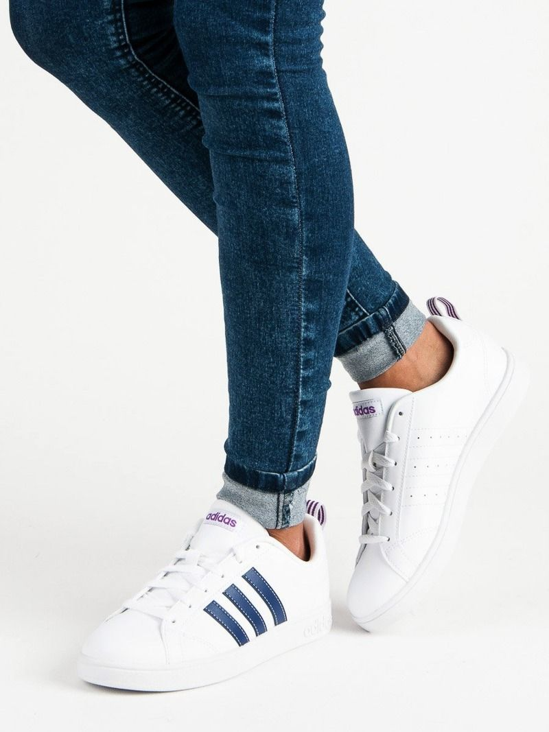 Bia?e Buty adidas Advantage W F36481 | Sportowe damskie w