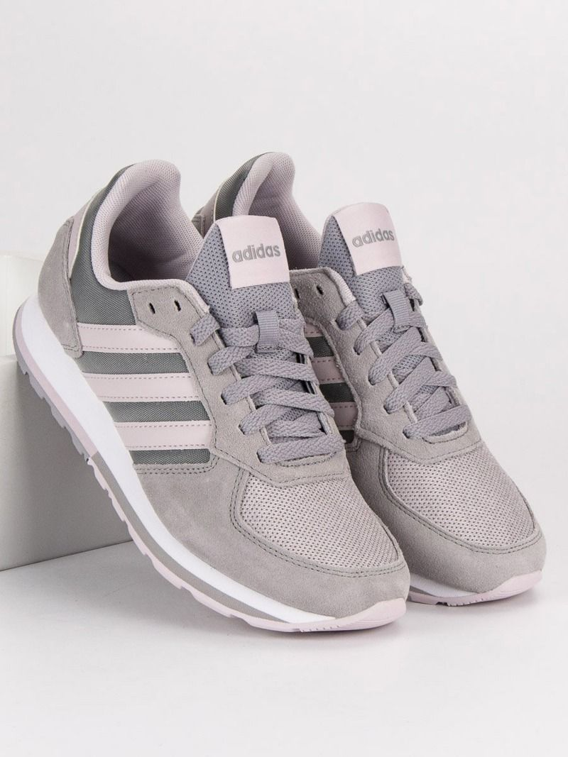 Adidas Buty damskie 8K szare r. 40 (B43793) ID produktu: 4709377