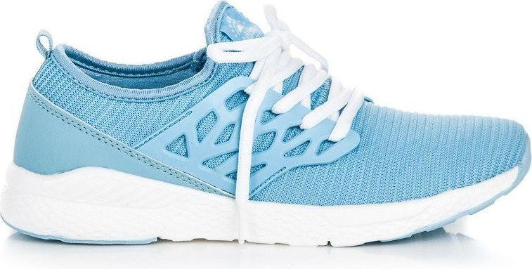 AX BOXING Buty damskie materiałowe niebieskie r. 36 ID produktu: 4711011