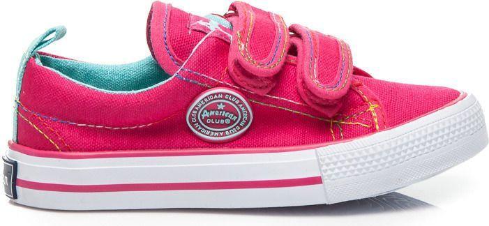 American Club Trampki dziecięce na rzep różowe r. 29 ID produktu: 4716604