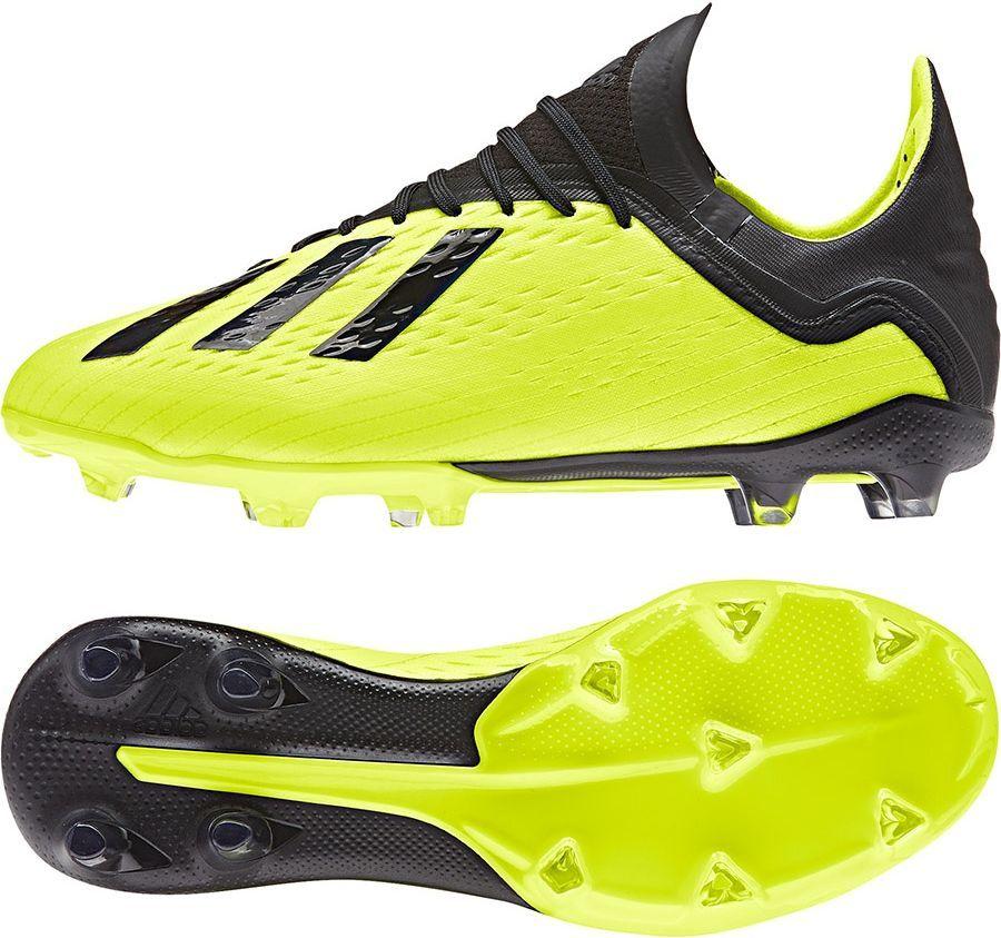 974ab38f6 Adidas Buty pilkarskie X 18.1 FG J Solar Yellow / Core Black / Ftwr White r.  38 (DB2429) w Sklep-presto.pl