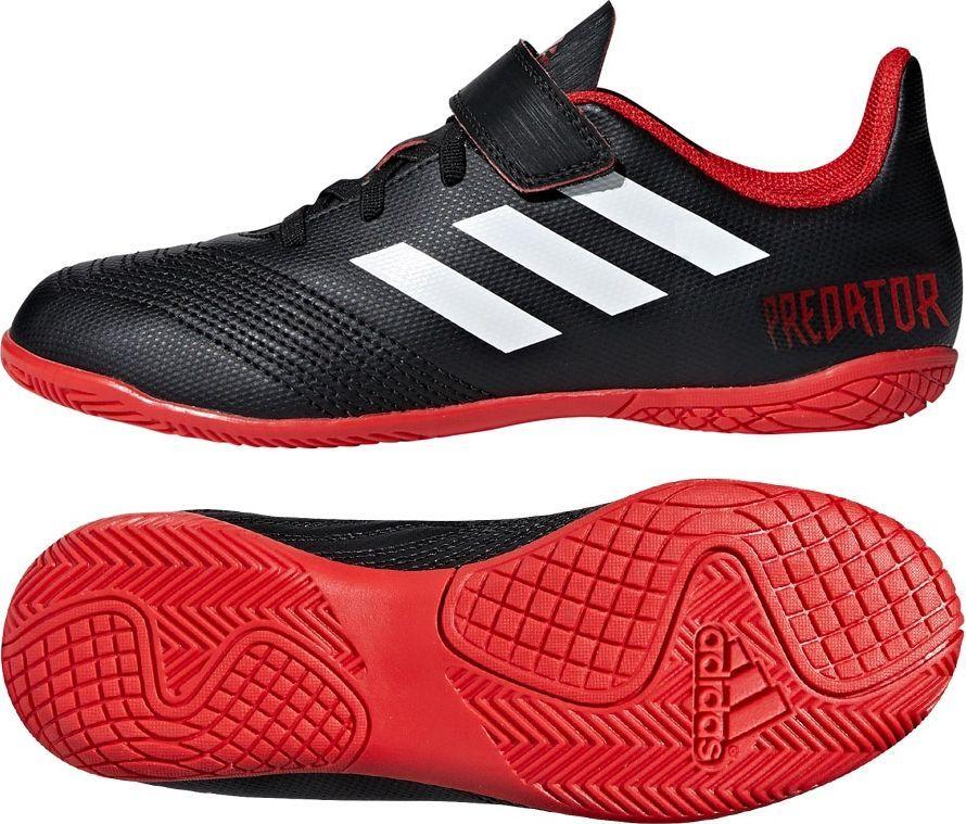 buty adidas czarno czerwone