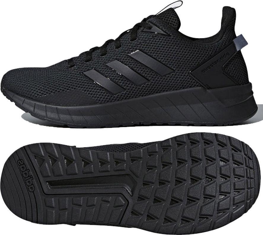 cbf1b791 Adidas Buty męskie Questar Ride czarne r. 42 2/3 (B44806) w Sklep-presto.pl