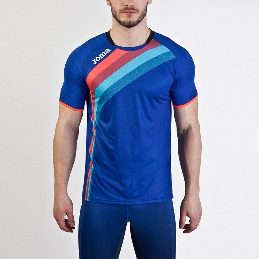 ac78d4ab71f629 Joma sport Koszulka dziecięca Elite V S/S 100393 niebieska r. 128 w Sklep -presto.pl