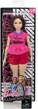 Barbie Mattel Barbie ashionista's doll in pink top and red shorts 1