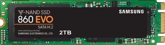 Dysk SSD Samsung 860 EVO 2 TB M.2 2280 SATA III (MZ-N6E2T0BW) 1